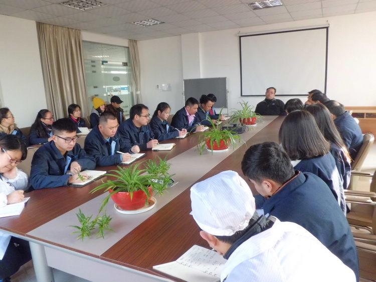 芜湖龙8国际登录召开年终总结会