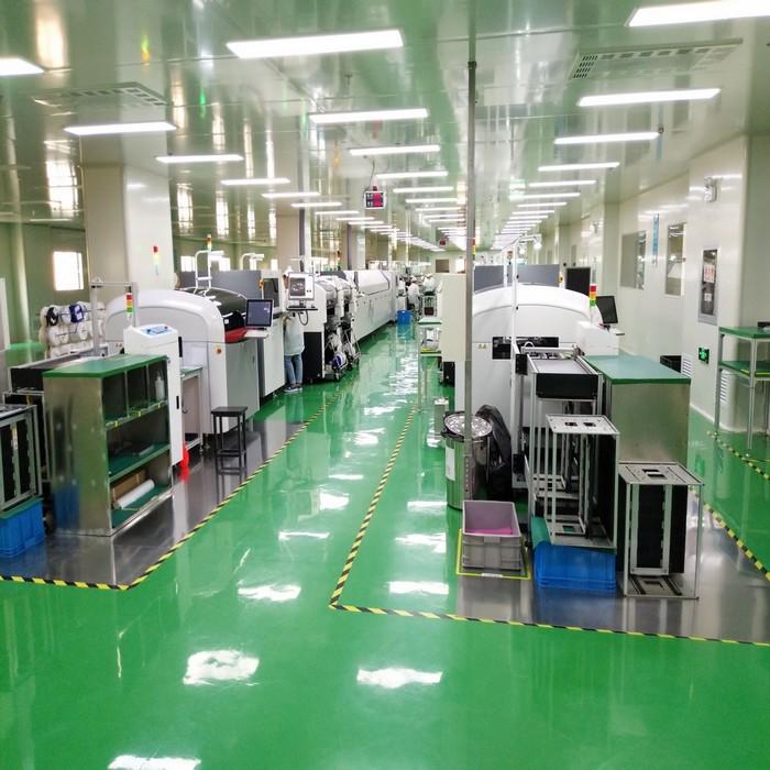 龙8国际登录电子SMT3号生产车间正式投产