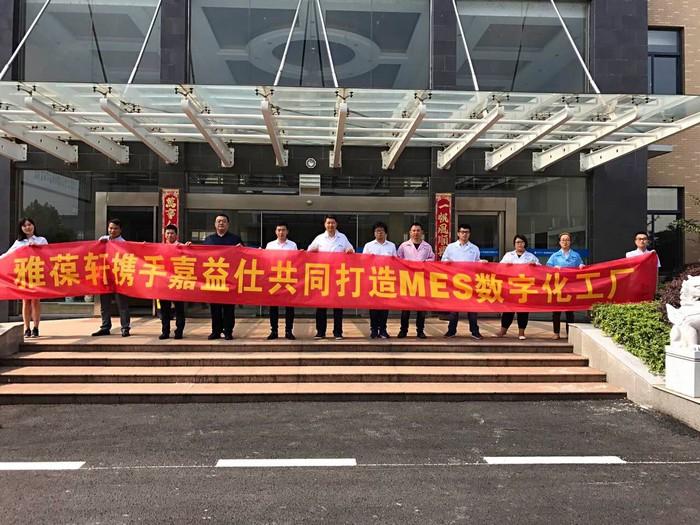 芜湖龙8国际登录电子科技股份有限公司MES项目正式启动